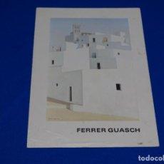 Coleccionismo de carteles: CARTEL EXPOSICIÓN VIÇENS FERRER GUASCH.1982.LA PINACOTECA.. Lote 221839443