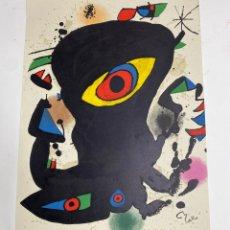 Coleccionismo de carteles: CP-14. CARTEL MIRÓ. GALERIA MAEGHT, EXPOSICIO INAGURAL, BARCELONA. NOV.-DES. 1974.. Lote 221875751