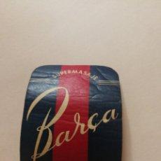 Coleccionismo de carteles: CARTEL SUPERMASAJE BARCA. Lote 222036742
