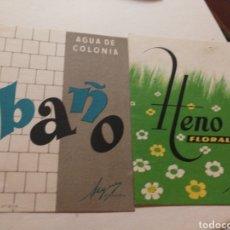 Coleccionismo de carteles: CARTEL COLONIA ANTIGUO. Lote 222036901