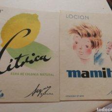 Coleccionismo de carteles: CARTELES ANTIGUOS COLONIA. Lote 222037093