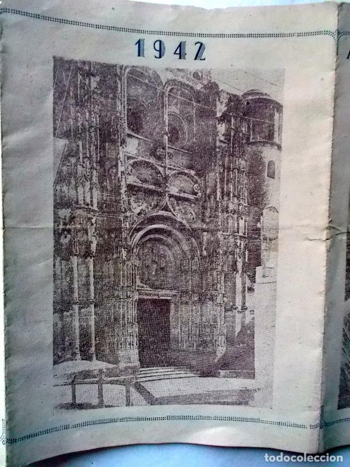 Coleccionismo de carteles: 1942 Arcos de la Frontera Triptico informativo de Semana Santa 2 - Foto 2 - 222071815