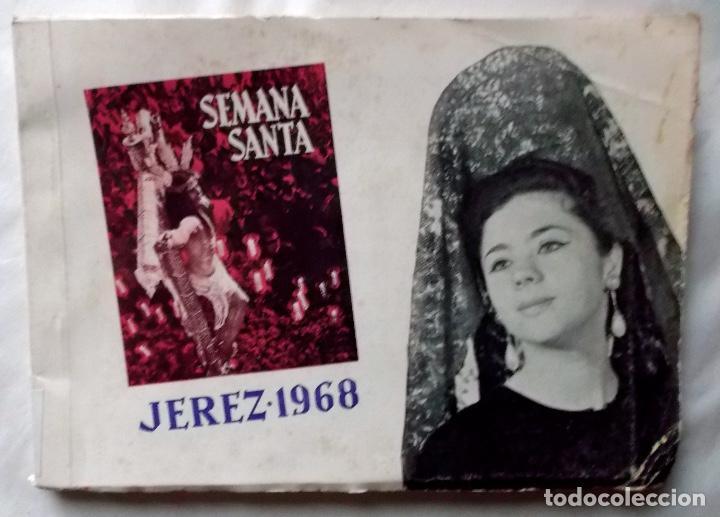 1968 JEREZ SEMANA SANTA LIBRO INFORMATIVO DE LAS COFRADÍAS (Coleccionismo - Carteles Pequeño Formato)