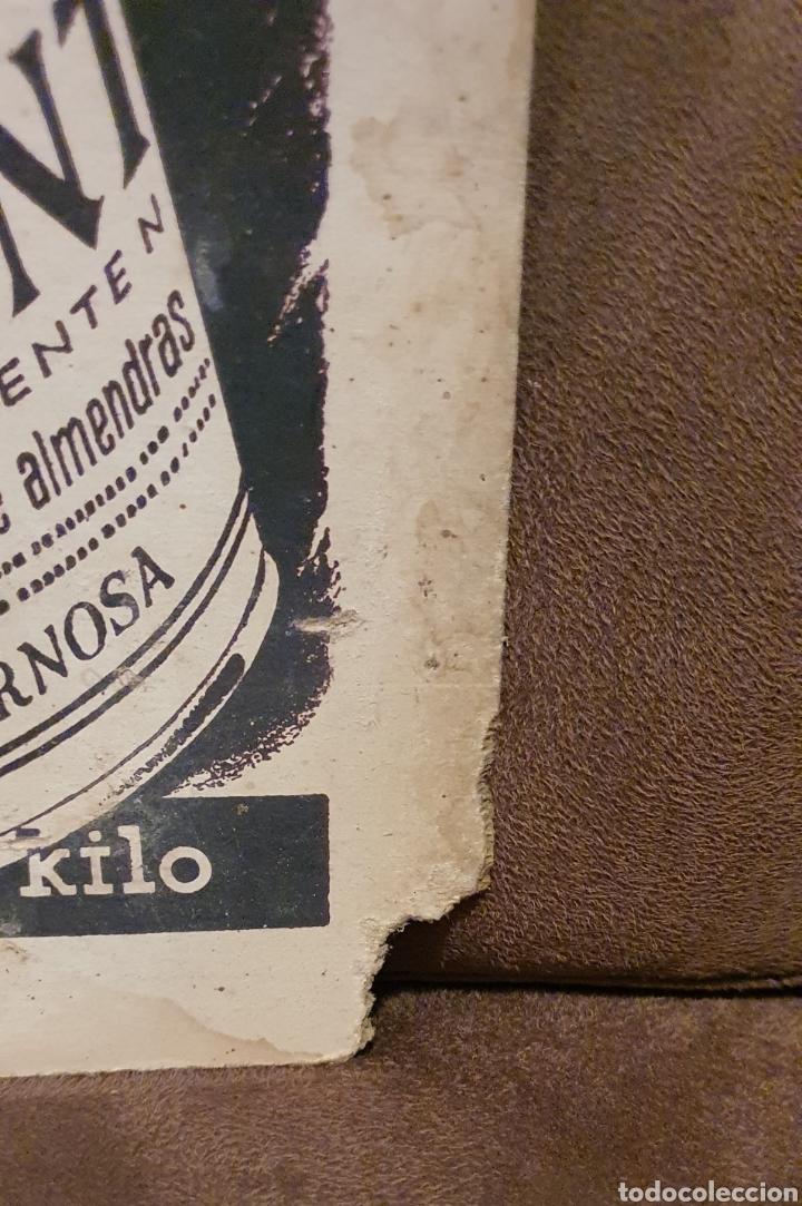 Coleccionismo de carteles: Cartel publicitario ALIMENTINA años cincuenta - Foto 4 - 222277476