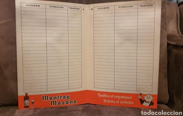 Coleccionismo de carteles: Cartel Publicitario año 1957 Montroy Masana - Foto 5 - 222279630