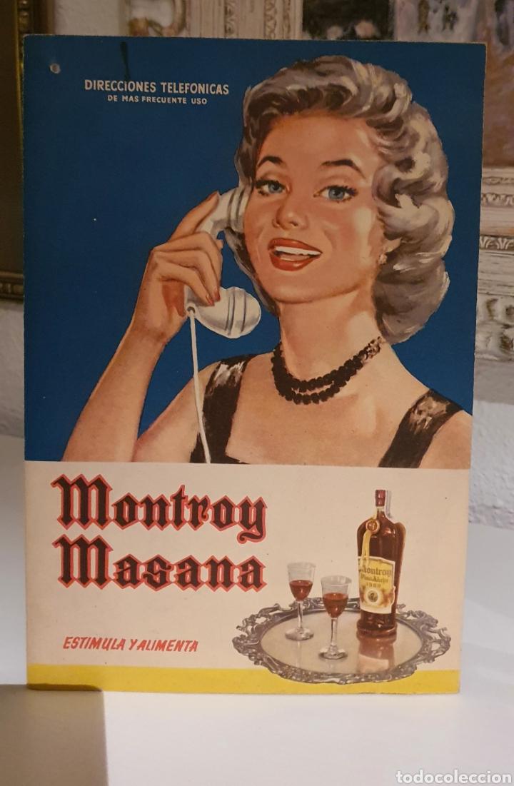 Coleccionismo de carteles: Cartel Publicitario año 1957 Montroy Masana - Foto 7 - 222279630