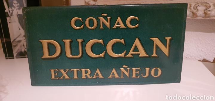 Coleccionismo de carteles: Cartel Publicitario Coñac Duccan - Foto 2 - 222280492