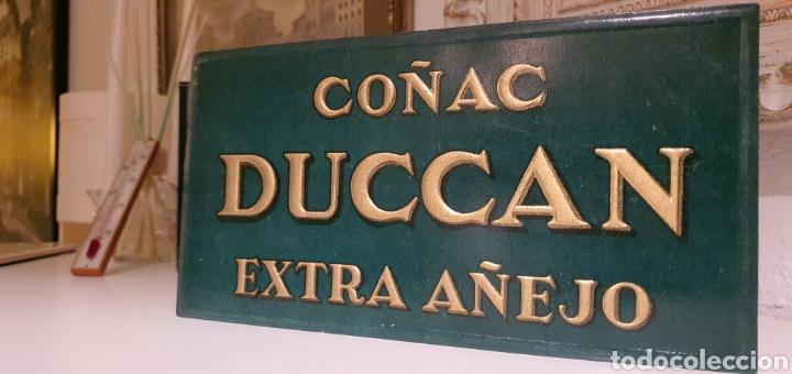 Coleccionismo de carteles: Cartel Publicitario Coñac Duccan - Foto 4 - 222280492