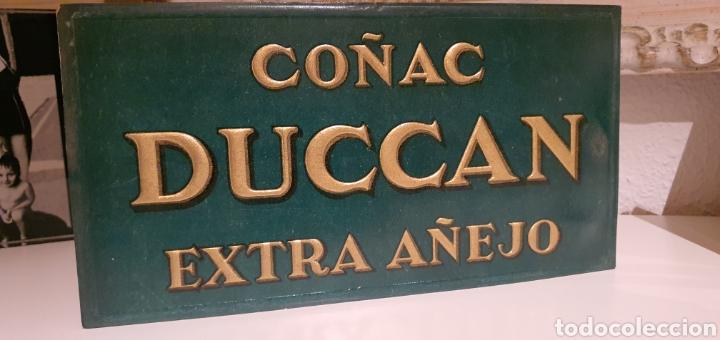 CARTEL PUBLICITARIO COÑAC DUCCAN (Coleccionismo - Carteles Pequeño Formato)
