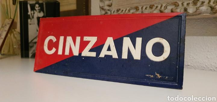 Coleccionismo de carteles: Zinzano Cartel Publicitario troquelado - Foto 4 - 222281827