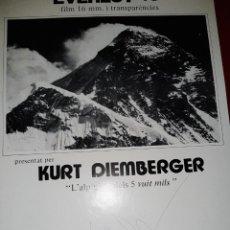 """Coleccionismo de carteles: CARTEL PRESENTACIÓN """"EVERETS 78"""" POR KURT DIEMBERGER - FIRMADO. Lote 222322596"""