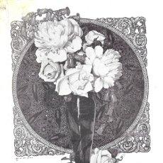 Coleccionismo de carteles: 1923 HOJA DE REVISTA PUBLICIDAD ANUNCIO DE PRENSA JABÓN COLONIA FLORES DEL CAMPO PERFUMERÍA FLORALIA. Lote 222332323