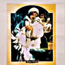 Coleccionismo de carteles: COCA-COLA CARTEL PAPEL - 29.5 X 39.5.CM. Lote 223993758