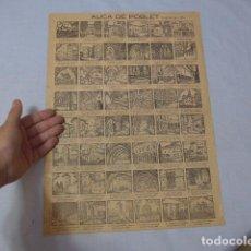 Coleccionismo de carteles: * ANTIGUO CARTEL AUCA DE POBLET, ORIGINAL. ZX. Lote 224793271