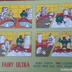 Coleccionismo de carteles: CARTEL PUBLICITARIO FAIRY ULTRA.. Lote 225638890