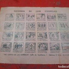 Coleccionismo de carteles: ALELUYA LUÍS CANDELAS. Lote 226270945