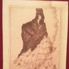 Coleccionismo de carteles: PUBLICIDAD DE LEON BERGADÁ POR LUIS GARCIA (1881-1954). BARCELONA 1916.. Lote 226597950