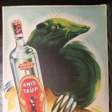 Coleccionismo de carteles: ANÍS DEL TAUP. SABADELL.. Lote 226605495