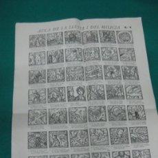 Coleccionismo de carteles: GUERRA CIVIL. AUCA DE LA LLUITA I DEL MILICIA Nº1. EDICIO DEL COMISSARIAT DE PROPAGANDA ....... Lote 227144540