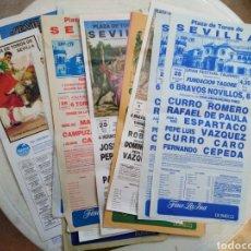 Coleccionismo de carteles: LOTE DE 22 CARTELES DE TOROS ( PONEN EXPO 92 EN TODOS ). Lote 227775775