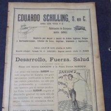 Coleccionismo de carteles: EDUARDO SCHILLING, S EN C.. Lote 228631588