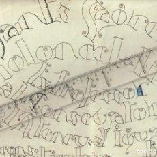 Coleccionismo de carteles: CARTELL LLIÇONS PARTICULARS SANTS SAGRERA EXPROFESSOR CONSERVATORI ATENEU IGUALADA VIOLONCEL.LISTA. Lote 229445285