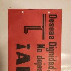 Coleccionismo de carteles: FALANGE ESPAÑOLA PUBLICIDAD SEMANARIO ARRIBA 1935. Lote 229613335