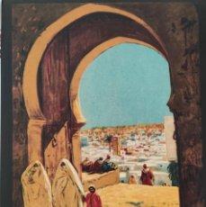 Colecionismo de cartazes: LOTE 3 REPRODUCCIONES CARTELES TURISTICOS MARIANO BERTUCHI. TAMAÑO A4.. Lote 233189900