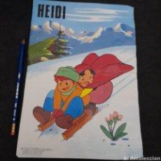 Coleccionismo de carteles: ANTIGUO PÓSTER DE HEIDI. ZUIYO. AÑO 1975. Lote 233765595