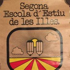 Coleccionismo de carteles: SINTES, FERRAN BALEARS, CARTEL D ESCOLA D'ESTIU. Lote 233917055