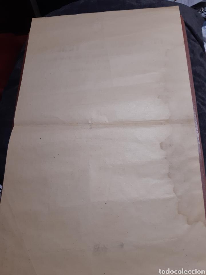 Coleccionismo de carteles: Cartel Franquista, El Fuero del Trabajo Año 1938 - Foto 2 - 234958480