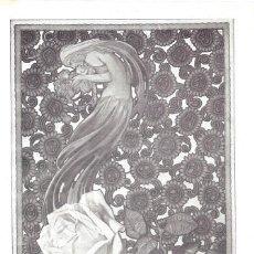 Coleccionismo de carteles: 1923 HOJA REVISTA PUBLICIDAD ANUNCIO DE PRENSA PERFUMERÍA FLORALIA COLONIA 'FLORES DEL CAMPO' JABÓN,. Lote 237675980
