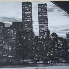 Coleccionismo de carteles: LÁMINA EDICIÓN LIMITADA TORRES GEMELAS NEW YORK 2003 EL CORTE INGLÉS PUENTE DE BROOKLYN. Lote 237686520