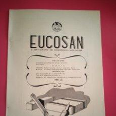 Coleccionismo de carteles: PUBLICIDAD MEDICAMENTOS - EUCOSAN - BIOCLOROFIL - AÑO 1944 - FARMACIA - REVISTA MEDICINA. Lote 240387250