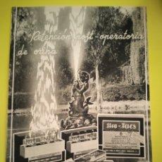 Colecionismo de cartazes: PUBLICIDAD MEDICAMENTOS AÑO 1944 - URO-FAES - FARMACIA - REVISTA MEDICINA. Lote 240390705