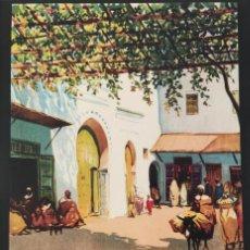 Collectionnisme d'affiches: LOTE 3 REPRODUCCIONES CARTELES TURISTICOS MARIANO BERTUCHI. TAMAÑO A4.. Lote 241552230