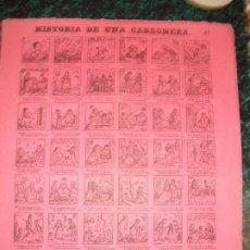 Colecionismo de cartazes: ALELUYA AUCA - HISTORIA DE UNA CARBONERA - Nº 47 BOSCH. Lote 242153875
