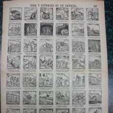 Colecionismo de cartazes: ALELUYA AUCA - VIDA Y ESTRAGOS DE UN CARACOL - Nº 60 BOSCH. Lote 242154865