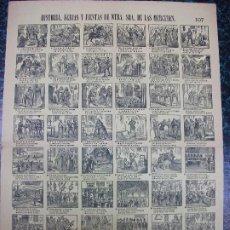 Colecionismo de cartazes: ALELUYA AUCA - HISTORIA, FERIAS Y FIESTAS DE NTRA. DE LAS MERCEDES - Nº 107 BOSCH. Lote 242163235