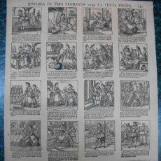 Colecionismo de cartazes: ALELUYA AUCA - HISTORIA DE TRES HERMANAS VULGO LA VENTA FOCHS - Nº 113 BOSCH. Lote 242164340