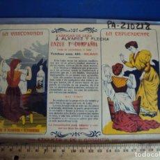 Collectionnisme d'affiches: (PA-210218)PUBLICIDAD FABRICA DE LEJIA LA VASCONGADA - BILBAO. Lote 242339790