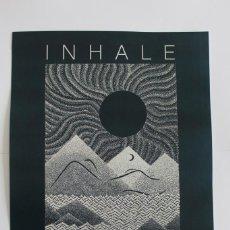 Coleccionismo de carteles: PÓSTER DE MIKE PINETTE - INHALE EXHALE (INSPIRA ESPIRA) - IMPRESIÓN DE GRAN CALIDAD - 31X41,5 CM. Lote 242955050