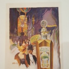 Colecionismo de cartazes: PUBLICIDAD ANUNCIO DOBLE CARA LOCION ACROLINE PERFUME ROYAL GENISTA TAMAÑO A4. Lote 243480885