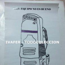 Coleccionismo de carteles: CARTEL FEMINISTA DE EXPOSICION DIA INTERNACIONAL DE LA NO VIOLENCIA CONTRA LA MUJER ORIGINAL, UNICO.. Lote 243929995