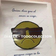 Coleccionismo de carteles: CARTEL FEMINISTA DE EXPOSICION DIA INTERNACIONAL DE LA NO VIOLENCIA CONTRA LA MUJER ORIGINAL, UNICO.. Lote 243930040