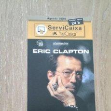 Coleccionismo de carteles: LOTE 2 CARTELES ERIC CLAPTON. Lote 244427885