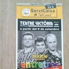 Coleccionismo de carteles: LOTE 2 CARTELES EL TRICICLE. Lote 244431635