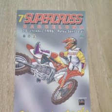 Coleccionismo de carteles: LOTE 2 CARTELES SUPERCROSS. Lote 244432365