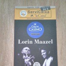Coleccionismo de carteles: LOTE 3 CARTELES LORIN MAAZEL. Lote 244433395
