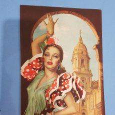 Coleccionismo de carteles: CARTEL DE FLAMENCA ANTIGUO. Lote 244772855